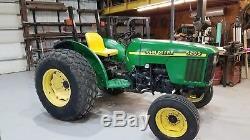 2000 John Deere 5205 diesel tractor low hours 53 HP
