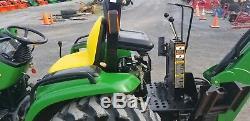 2001 John Deere 4400 TLB Compact Tractor