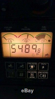 2001 John Deere 8110 Tractor Diesel Engine 5490 Hours Florence, ALABAMA
