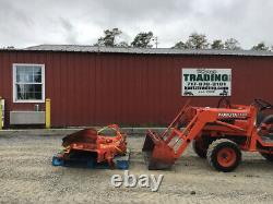 2001 Kubota B1700 4x4 Hydro Compact Tractor with Loader Only 2100 Hours