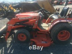 2001 Kubota B2400 4x4 Hydro Compact Tractor with Loader & Mower Coming Soon