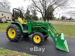 2002 John Deere 4710 Tractor Loader 4x4 HST 474 Hours