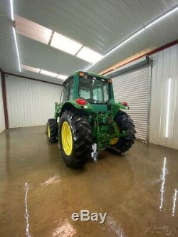 2002 John Deere 6320 Cab Tractor Loader With Ac/heat, 4x4