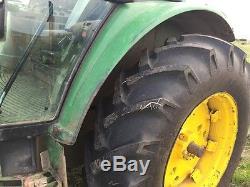 2002 John Deere 6320 Cab Utility Tractors