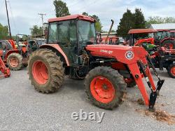 2002 Kubota M9000 4x4 90Hp Utility Tractor with Cab & Loader Only 1500 Hours