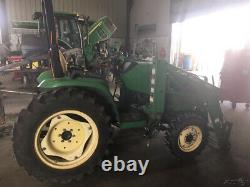 2003 John Deere 4210 4x4 Compact Tractor with Loader Only 900 Hours