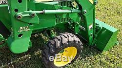 2003 John Deere 790 4WD Tractor with John Deere Loader