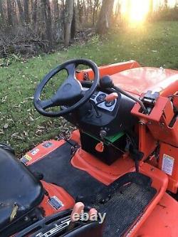 2003 KUBOTA BX2200 Loader Mower Diesel Tractor 4WD 22HP Compact 1400 Hours PA