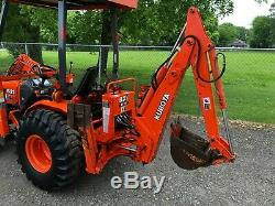 2004 Kubota B21 Commercial Tractor, Loader, Backhoe (994 Hours)