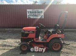 2004 Kubota BX1500 4x4 Diesel Compact Tractor with Mower