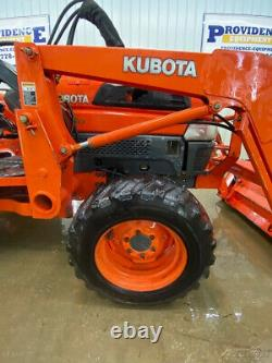 2004 Kubota L3130 Hst With Orops, 4x4, 3-ppoint Arms, Pin On Bucket