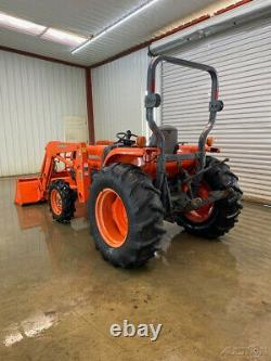 2004 Kubota L4330dt Orops 4wd Compact Tractor