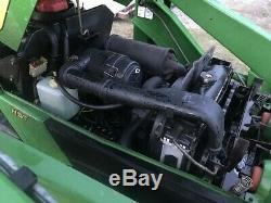 2005 JOHN DEERE 4010 COMPACT TRACTOR With 410 LOADER. 4X4. DIESEL. 395 HRS. HYDRO