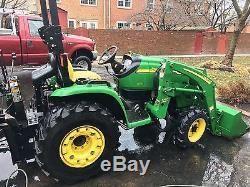 2005 John Deere 3320 4x4 300cx Loader 447 backhoe diesel tractor