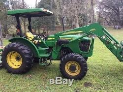 2005 John Deere 5325 Utility Tractor 489 Hours, MX7 Bush Hog, Bush Hog Box Blade