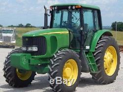 2005 John Deere Row Crop 7520 MFWD Used, Tractor, Diesel, 5,400 Hours