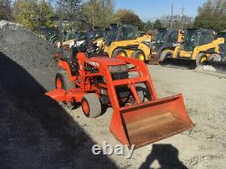 2005 Kubota BX1800 4x4 Hydro Compact Tractor with Loader & Belly Mower Only 1700Hr