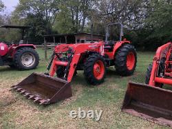 2005 Kubota M9000 4x4 90Hp Utility Tractor with Loader Only 1500 Hours