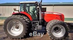 2005 Massey Ferguson 8470 Tractor Auto Steer Front & Back Duals 5 Remotes