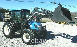 2005 New Holland TN75DA Loader 4x4 3189 Hrs. FREE 1000 MILE DELIVERY FROM KY