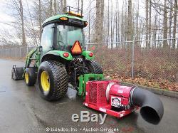 2006 John Deere 4320 Loader 4x4 Ag Tractor Cab A/C 48HP Diesel PTO Blower Aux