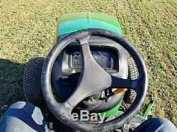 2006 John Deere 4320 Utility Farm Tractor Diesel 48HP Hydro 4x4 72 Belly Mower