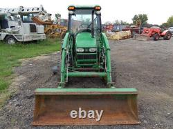2006 John Deere 4720 Tractor, Cab/Heat/Air, 4WD, Hydro, 72 Belly Mower, Loader