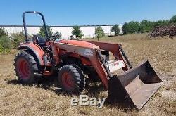 2006 Kioti Dk45s 45 HP 4x4 Tractor