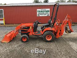 2006 Kubota BX23 4x4 Compact Tractor Loader Backhoe
