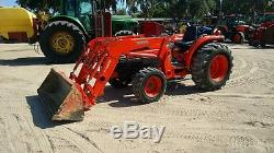2006 Kubota L4330 4x4 Compact Tractor with Loader. Coming in Soon