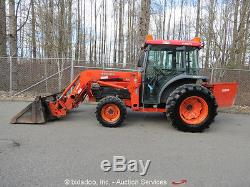 2006 Kubota L5030D 4WD Utility Ag Tractor 4in1 Loader 50HP Cab Heat Aux Hyd A/C