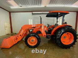 2006 Kubota M9540 Oprops 4wd Tractor With Manual Quick Attach