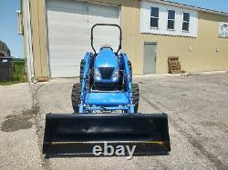 2006 New Holland TC45DA utility tractor
