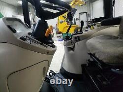 2007 John Deere 4520 4WD with loader and bush hog