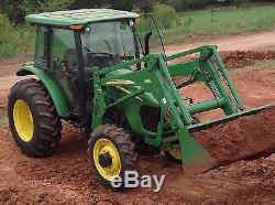 2007 John Deere 5525 90 HP Tractor MFWD Loader