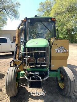 2007 John Deere 6415 tractor 105 HP with Boom mower