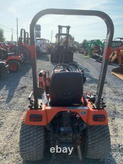 2007 Kubota BX2230 4x4 Hydro 22hp Compact Tractor with Loader & 60 Belly Mower