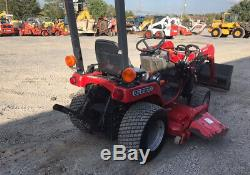 2007 Massey Ferguson GC2300 4x4 Diesel Compact Tractor Loader Mower 300Hrs