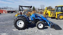 2007 New Holland TC55DA 4x4 Compact Tractor with Loader
