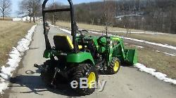 2008 John Deere 2305 4x4 Tractor With Loader
