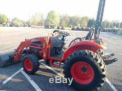 2008 Kioti Ck30 Compact Tractor Hydrostatic 30 HP Rear Remote 551 Hours Clean