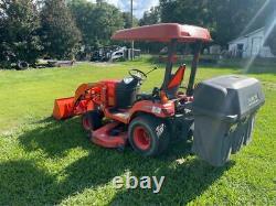 2008 Kubota Bx2350 4x4 Tractor Loader