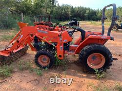 2008 Kubota L3400 4x4 Hydro Compact Tractor with Loader Only 1800 Hours
