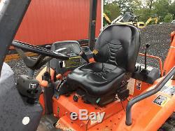 2008 Kubota L39 4x4 Compact Tractor Loader Backhoe