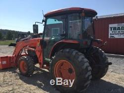 2008 Kubota L5740 4x4 Hydro Compact Tractor with Cab & Loader
