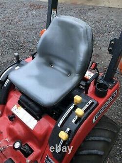 2008 Massey Ferguson GC2300 Diesel Tractor Loader Mower 4WD 60 Deck 1200 Hours
