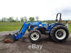 2008 New Holland T4030 Tractor, 4WD, Loader, 76HP Diesel, 1 Remote, 3,158 Hours