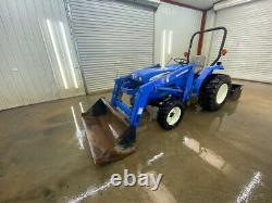 2008 New Holland Tc30 Orops Compact Utility Tractor