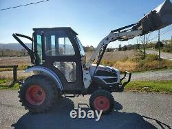 2009 Bobcat CT225 HST 4x4 tractor loader 27HP Diesel used compact utility 700hr