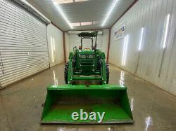 2009 John Deere 5055e Orops Tractor With Quick Attach, 4x4